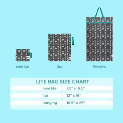 Planet Wise Mini Lite Wet Bag-Doppleganger